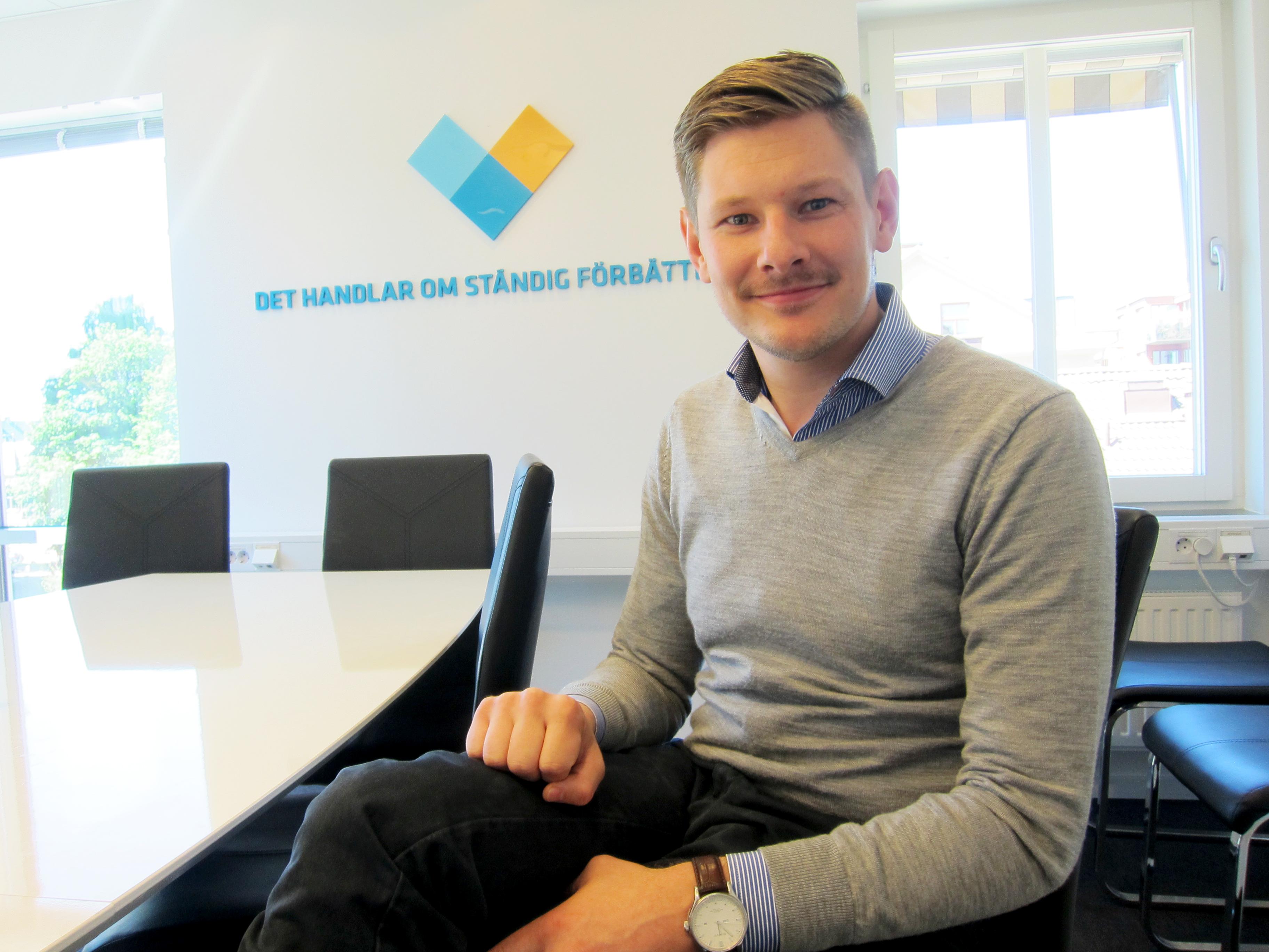 Anton Knudsen – vår nya affärskonsult