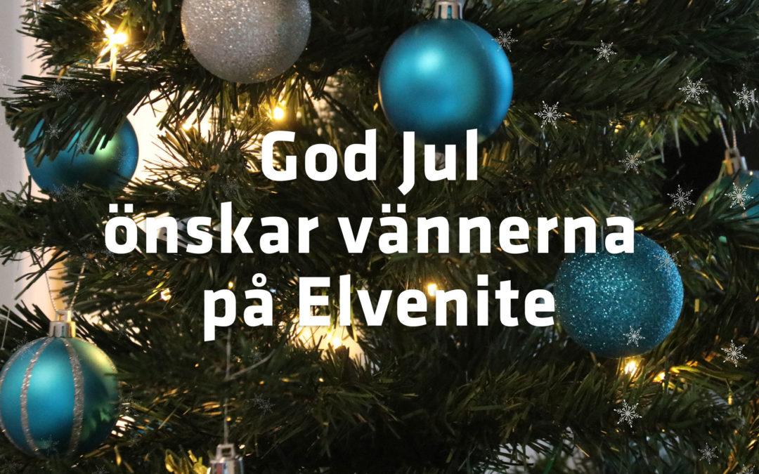 God Jul önskar vännerna på Elvenite