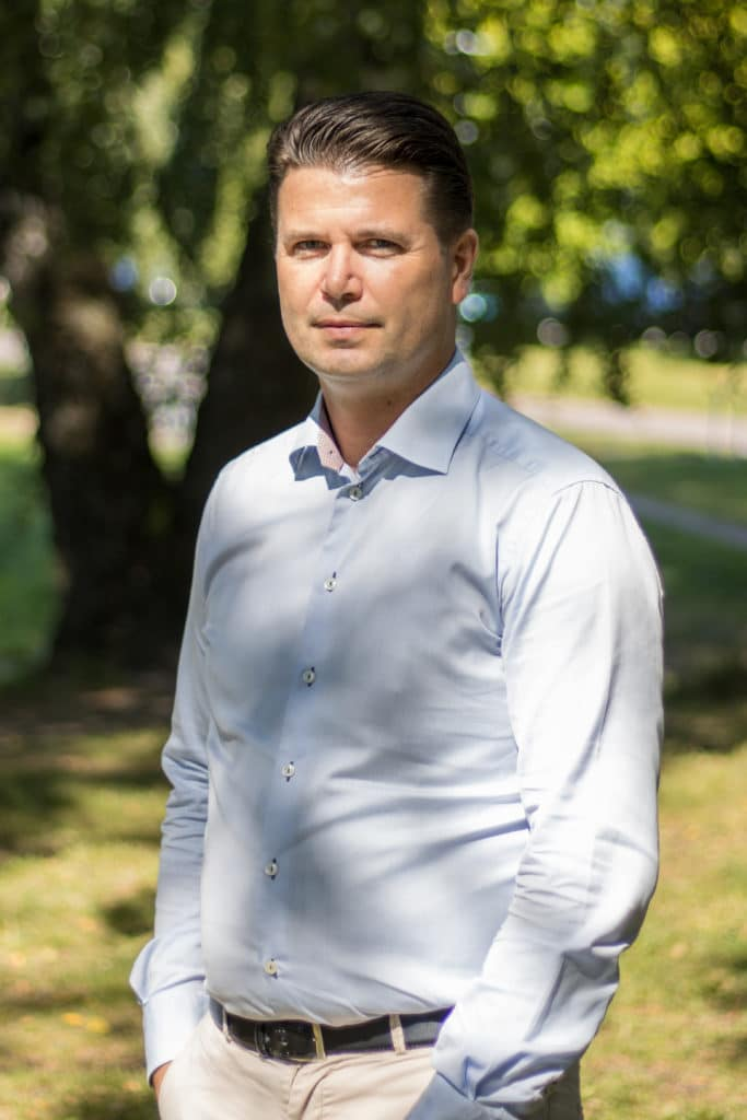 Mattias Ahlstedt CFO of Elvenite