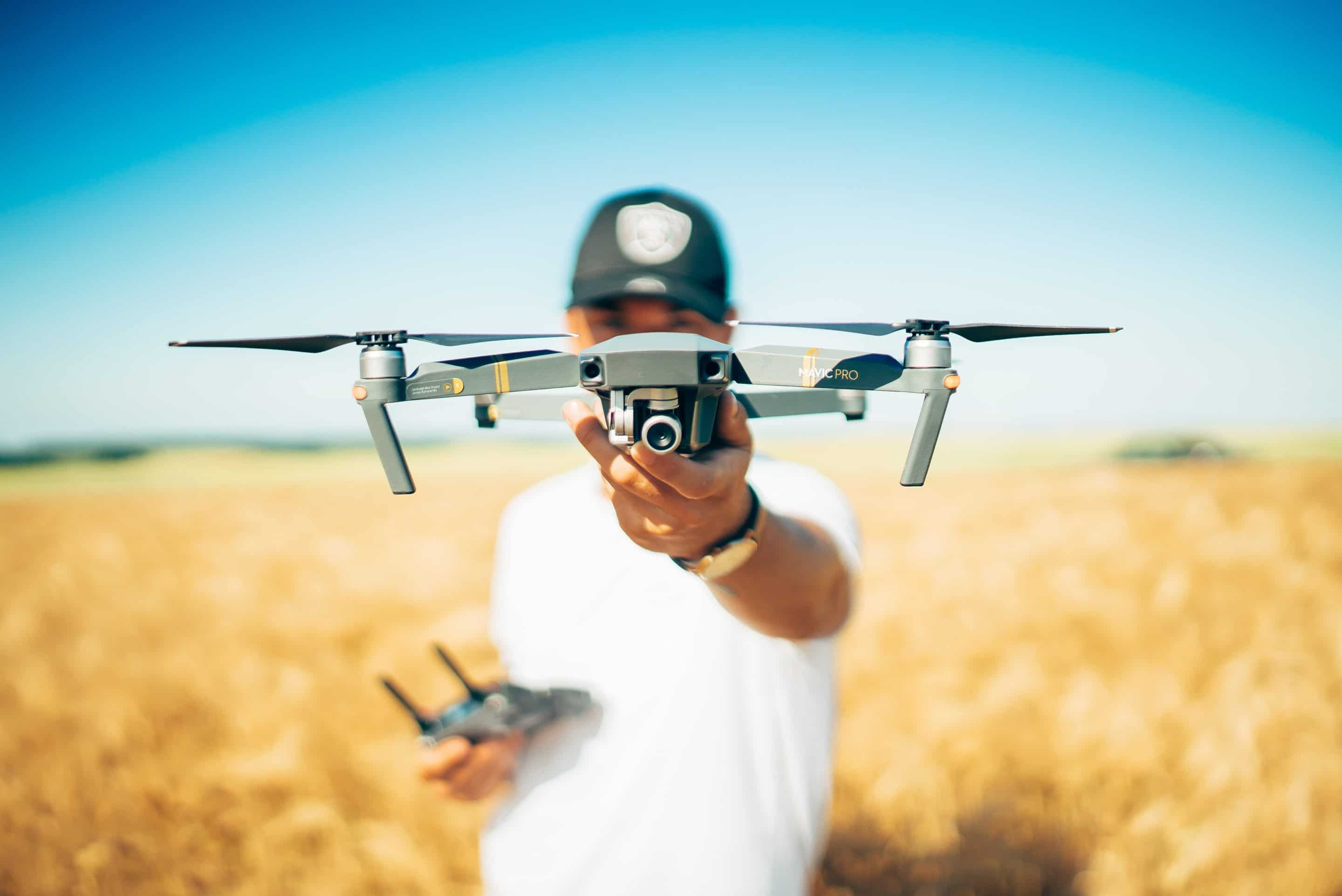 Drone used in agriculture