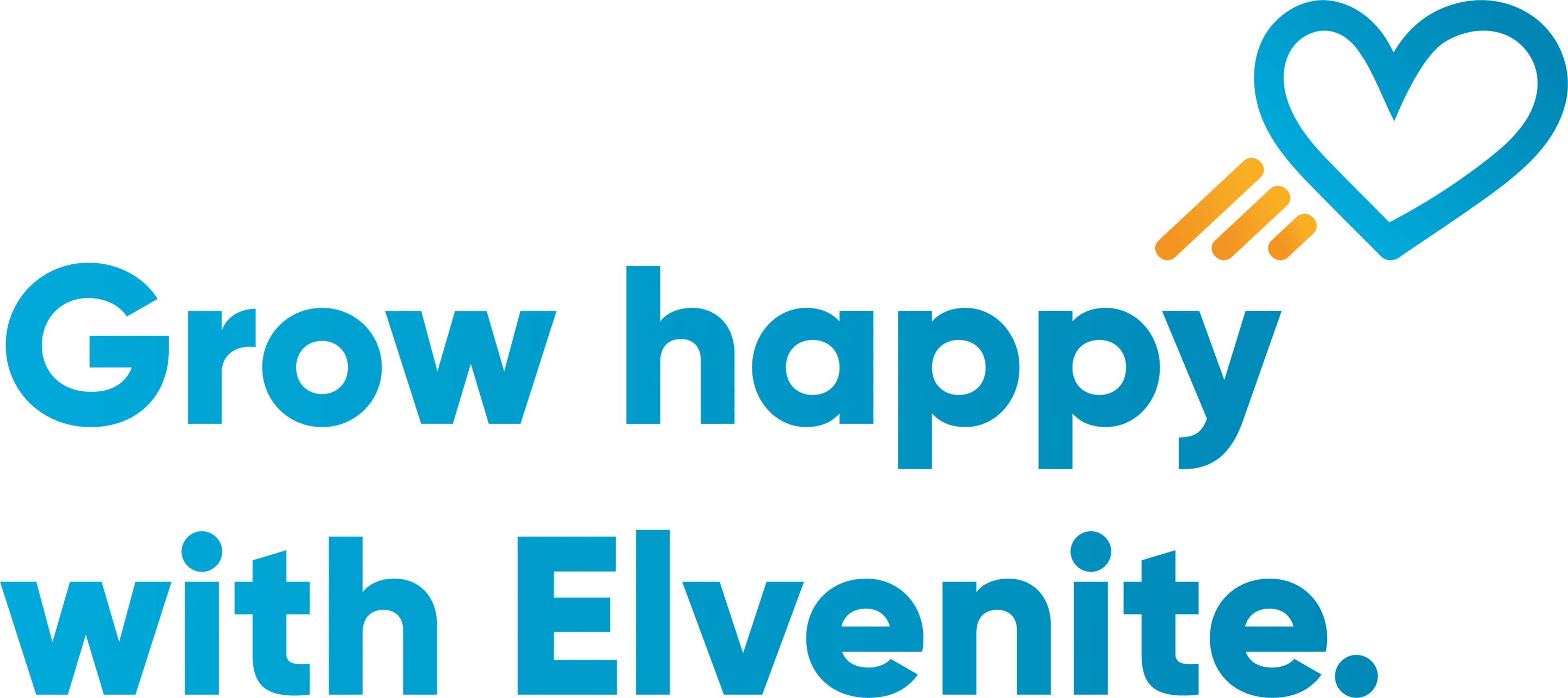 Grow Happy with Elvenite logo
