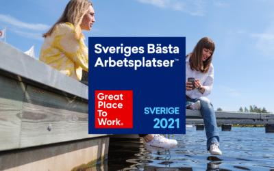 Elvenite är en av Sveriges bästa arbetsplatser!