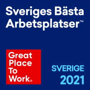 Sveriges bästa arbetsplatser